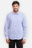 Four One Oh Formal Shirts (Men's) - Four One Oh Men's Striped Formal White Shirt