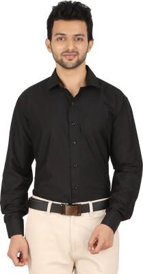 Stylo Shirt Men's Solid Formal Black Shirt