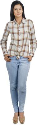 Addyvero Women's Checkered Casual Multicolor Shirt