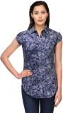 Fashion Cult Women's Printed Casual Blue...