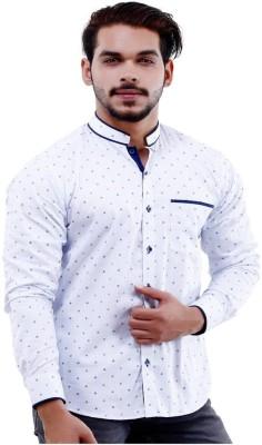 Lamode Men's Printed Casual Multicolor Shirt