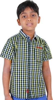 Biker Boys Boy's Striped Casual Multicolor Shirt