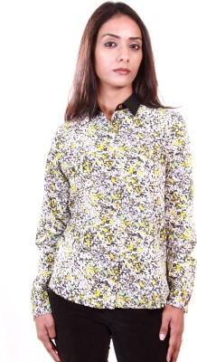 AR2 Women's Printed Formal Multicolor Shirt