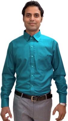 AVS Polo Men's Solid Casual Green Shirt
