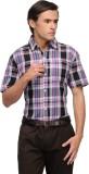 V2k Fashion Men's Checkered Casual Multi...