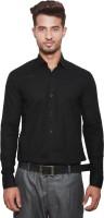 Tabser Formal Shirts (Men's) - Tabser Men's Solid Formal Black Shirt