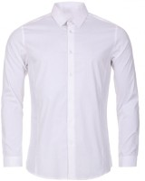 Rajindras Formal Shirts (Men's) - Rajindras Men's Solid Formal White Shirt