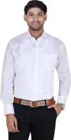 Jansons Formal Shirts (Men's) - Jansons Men's Solid Formal White Shirt