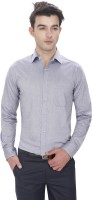 Idealism Formal Shirts (Men's) - Idealism Men's Solid Formal Blue Shirt