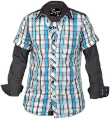 Blacksoul Men's Checkered Casual Multicolor Shirt