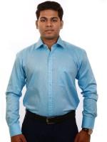 Iconic Formal Shirts (Men's) - Iconic Men's Solid Formal Light Blue Shirt