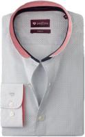 Invictus Formal Shirts (Men's) - Invictus Men's Printed Formal Grey, White Shirt
