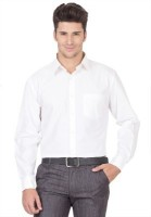 Ramana Formal Shirts (Men's) - RAMANA Men's Solid Formal White Shirt