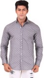 The G Street Men's Printed Casual Grey S...