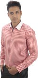 Tabard Men's Checkered Casual Red, White...