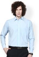 Protext Formal Shirts (Men's) - Protext Men's Solid Formal Blue Shirt