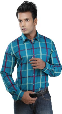 Zeal Mens Checkered Casual Multicolor Shirt