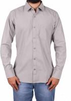 Gasconade Formal Shirts (Men's) - Gasconade Men's Solid Formal Grey Shirt