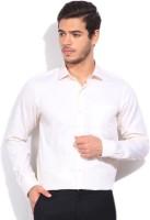 Wills Lifestyle Formal Shirts (Men's) - Wills Lifestyle Men's Self Design Formal Beige Shirt