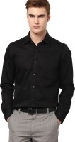 Ethiculture Formal Shirts (Men's) - Ethiculture Men's Solid Formal Black Shirt