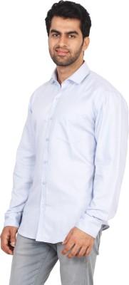 Rollinia Men,s Woven Casual Light Blue Shirt
