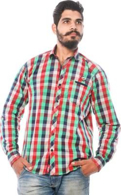 LWW Men's Checkered Casual Multicolor Shirt