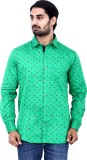 Cotton Signs Men's Printed Casual Green ...