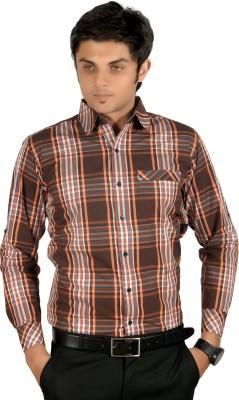 Proactive Men's Checkered Casual Multicolor Shirt