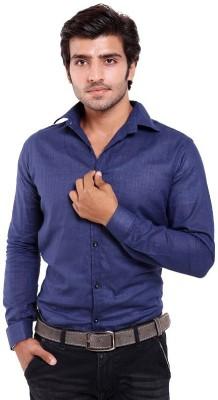 agarwal enterprices Men's Solid Casual Blue Shirt
