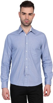 Urban Nomad By INMARK Men's Printed Casual Blue Shirt
