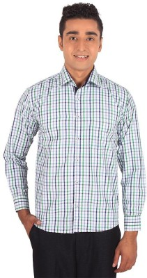 Henry Spark Men's Checkered Casual Green Shirt
