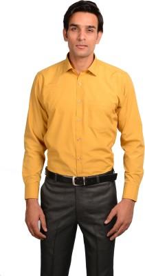 Mild Kleren Men's Solid Formal Brown Shirt
