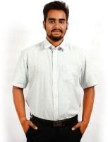 Sonute Berry Formal Shirts (Men's) - Sonute Berry Men's Solid Formal Grey Shirt