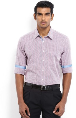Nord51 Men's Checkered Casual Red, Blue Shirt
