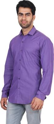 Rollinia Men,s Solid Casual Light Blue Shirt