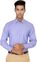 Devaa Formal Shirts (Men's) - Devaa Men's Striped Formal Blue Shirt