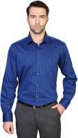 Van  Heusen Formal Shirts (Men's) - Van Heusen Men's Striped Formal Blue Shirt