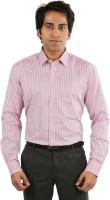 Desar Rana Formal Shirts (Men's) - Desar Rana Men's Striped Formal Multicolor Shirt