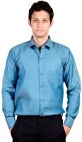 Bnzei Formal Shirts (Men's) - BNZEI Men's Solid Formal Blue Shirt