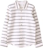 My Little Lambs Boys Striped Casual Blac...