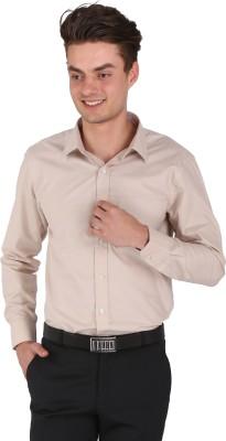 Flags Men's Woven Formal Gold Shirt
