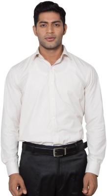 Slg Retail Pvt Ltd Men's Solid Formal White Shirt