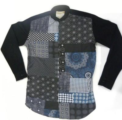 ARCS Agencies Men's Printed Casual Black Shirt