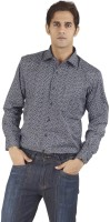 Silkina Formal Shirts (Men's) - Silkina Men's Floral Print Formal Black Shirt
