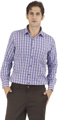 Silkina Men's Checkered Formal Multicolor Shirt