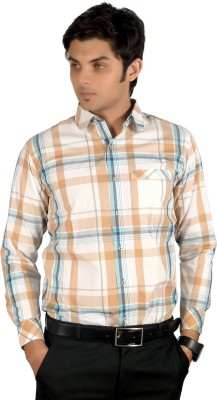 Proactive Men's Checkered Formal Multicolor Shirt