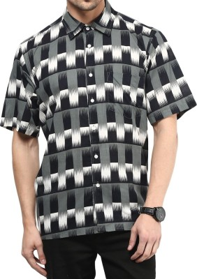 Vivid India Men's Checkered Casual Multicolor Shirt