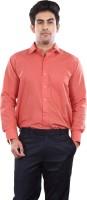 Audacity Formal Shirts (Men's) - Audacity Men's Solid Formal Orange Shirt