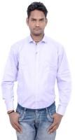 Kaylon Lifestyle Formal Shirts (Men's) - Kaylon Lifestyle Men's Solid Formal Purple Shirt
