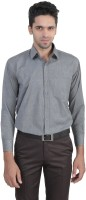 Manq Formal Shirts (Men's) - ManQ Men's Solid Formal Grey Shirt
